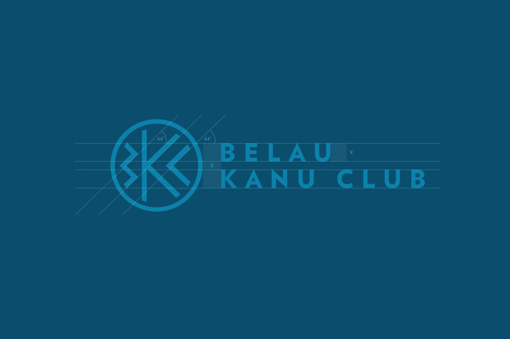 Belau Kanu Club logo build