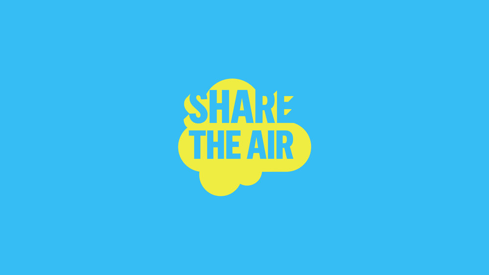 Share the Air logo