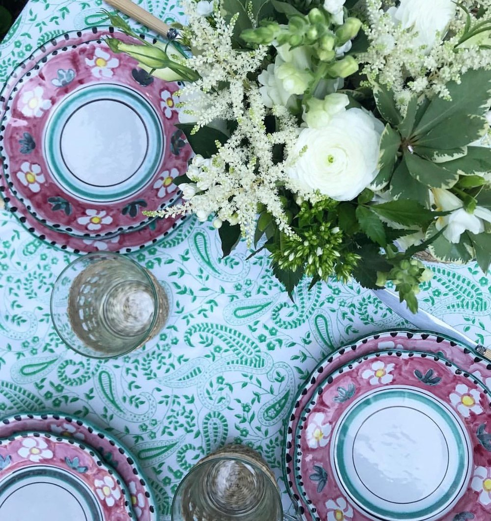 India Amory Table Linens