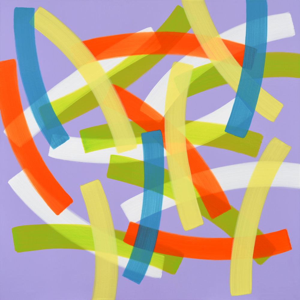 5. Un Passage No.184003, 100x100cm, Acrylic on Canvas, 2018.jpg
