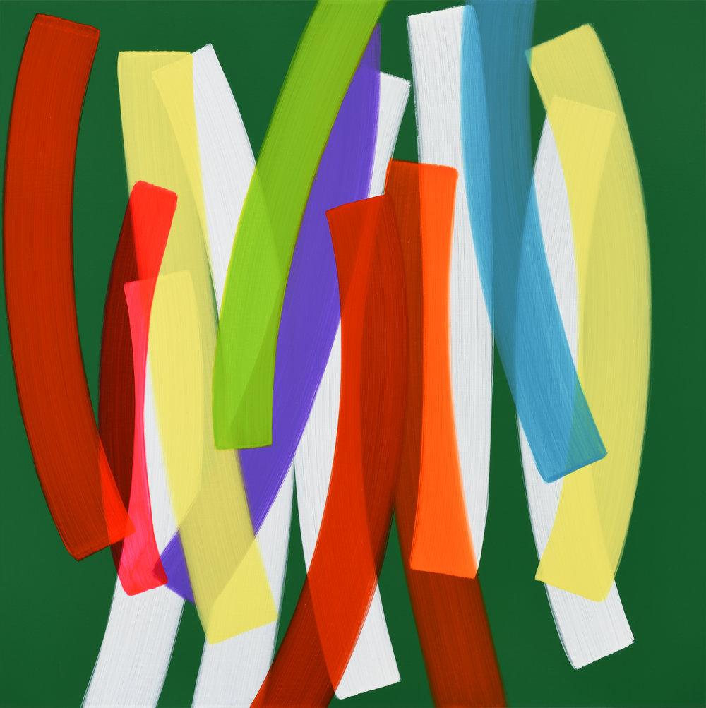 6. Un Passage No.184004, 100x100cm, Acrylic on Canvas, 2018.jpg
