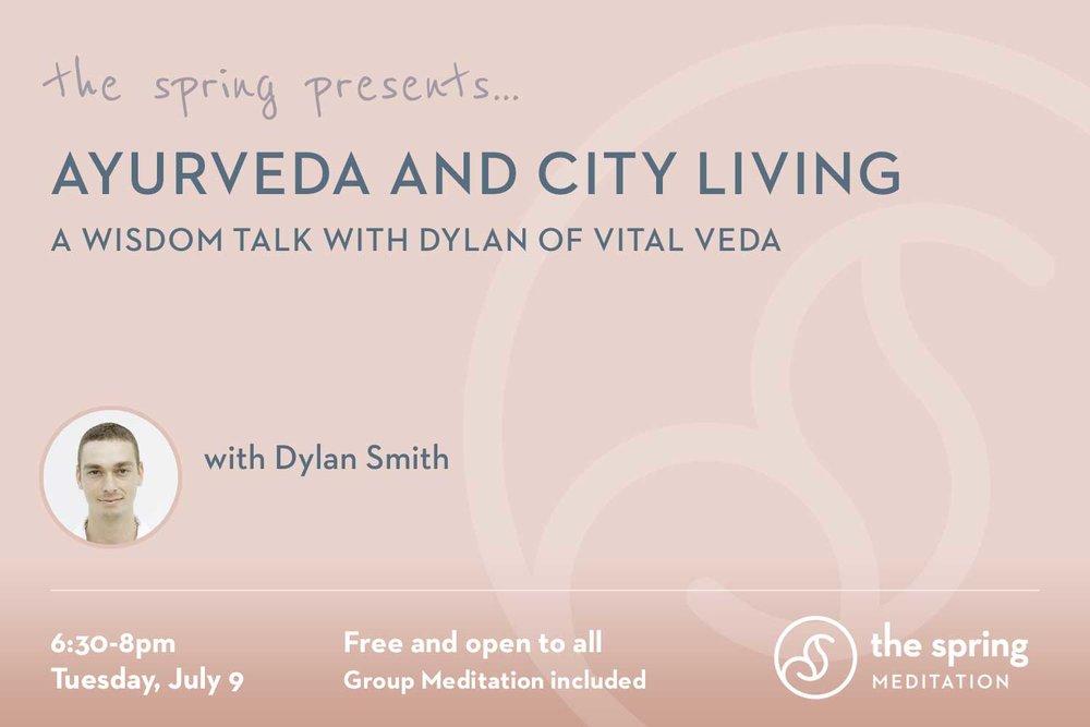 Ayurveda City Living The Spring Meditation Nyc Vedic
