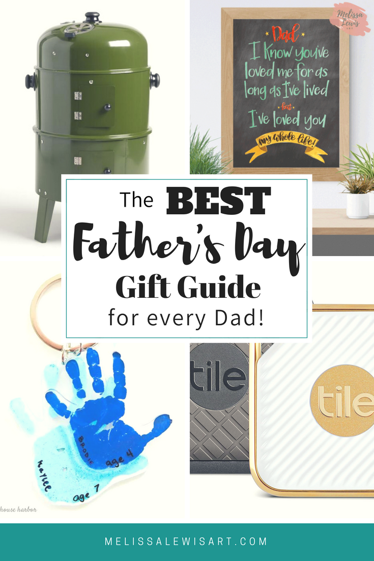 The Best Fathers Day Gift Guide For Every Dad. DIY, The Grilling Dad, The Tech Dad. And under $50!
