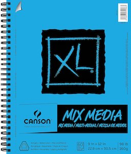 Mix Media Sketch Book