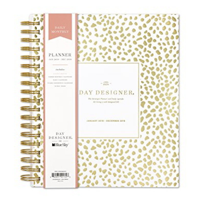 Day Designer Planner - The ultimate Girl Boss Entrepreneur Gift Guide by Melissa Lewis