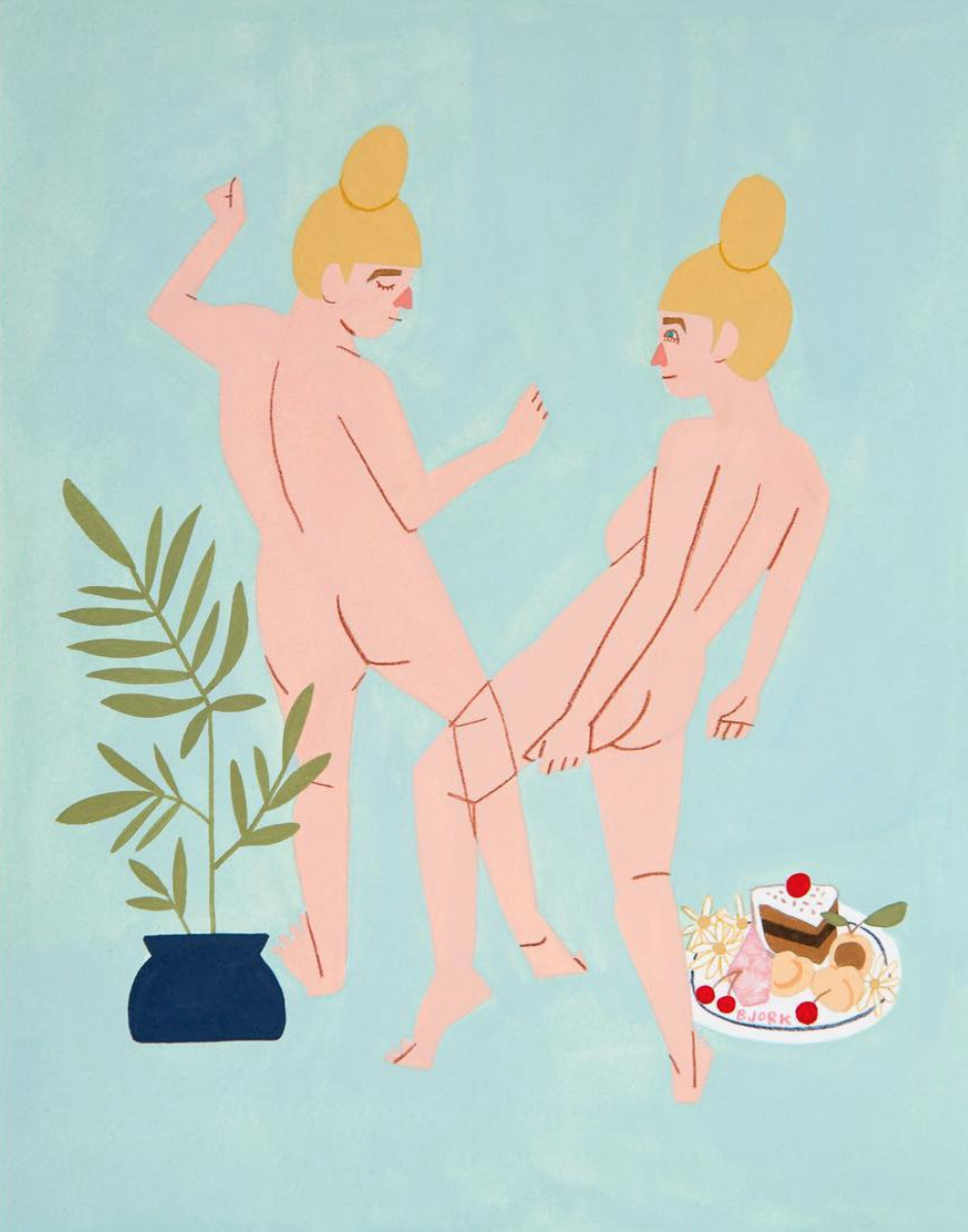 Birthday Suit Dance by Kelly Bjork | $500