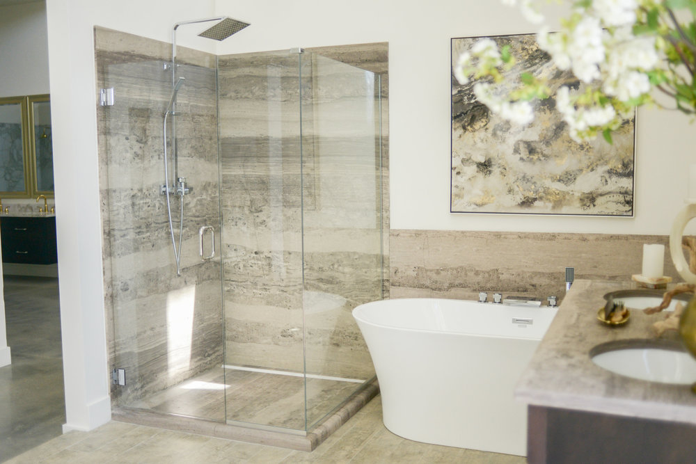 Tub and Shower Surrounds — Elite Marble