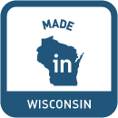 - Our products are proudly made in Wisconsin by folks who care about making your bathroom look spectacular.