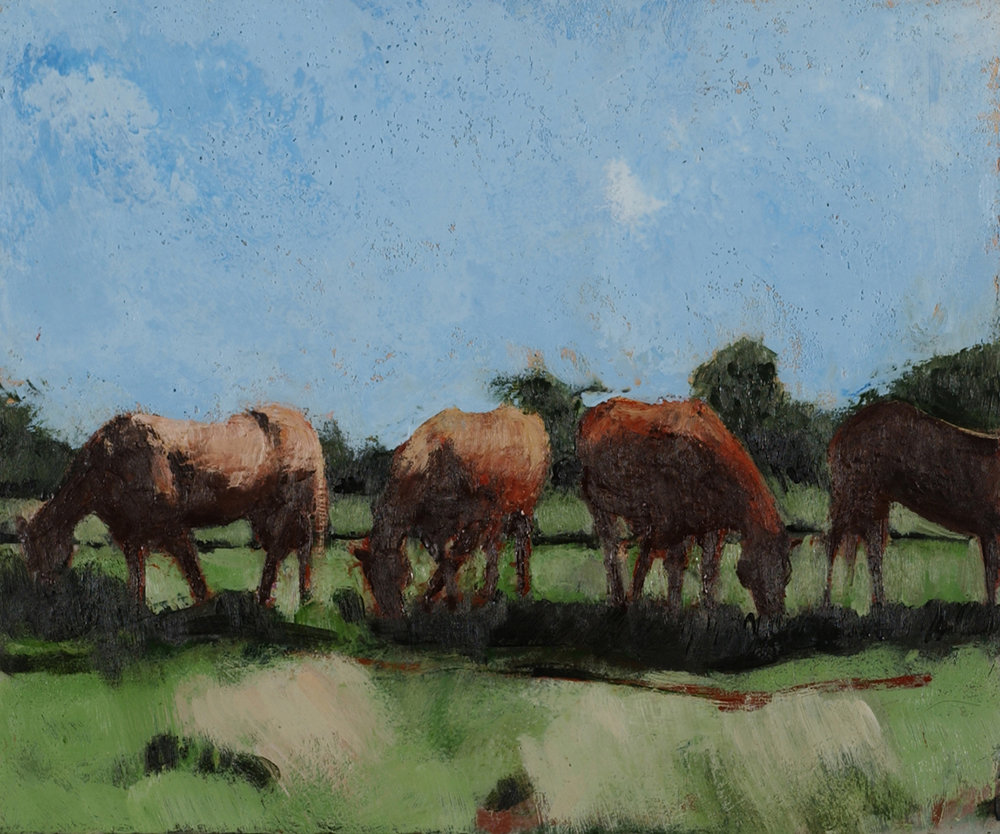 Horses in Landscape