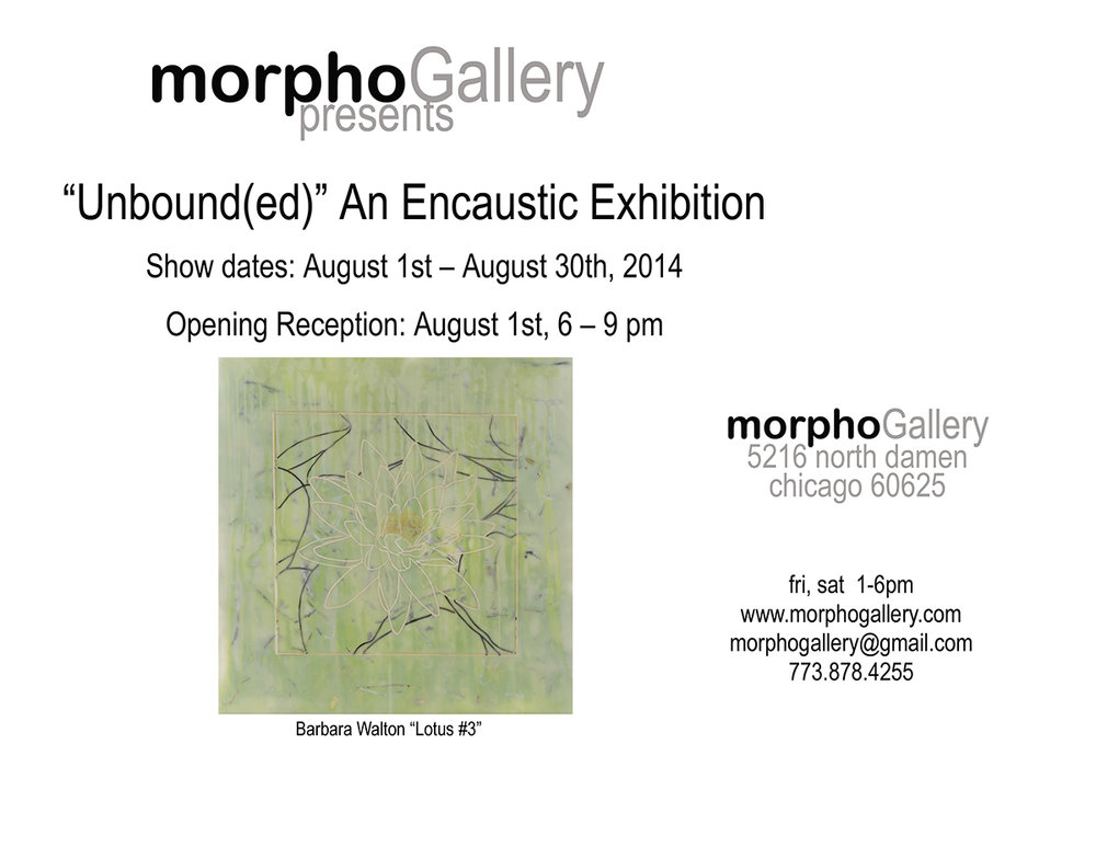 "Morpho Gallery:  ""Unbound(ed)"" an Encaustic Exhibition"