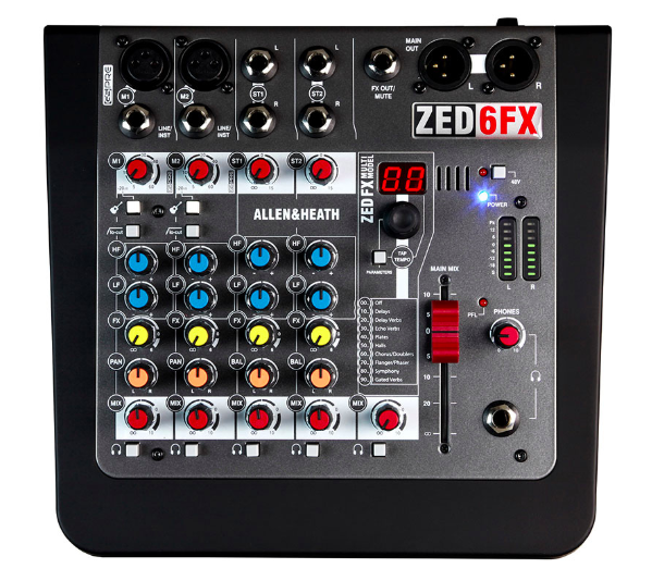 allen heath zed6fx - Analog Mixer