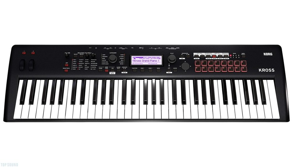korg kross 2 - Live Keyboard Synthesiser Workstation/Multi Pupose Drum Kit