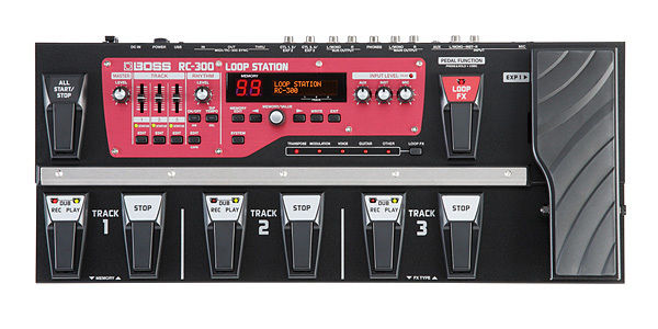 boss rc300 - Live Looping Pedal