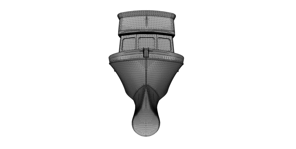 3D Mesh from Point Cloud