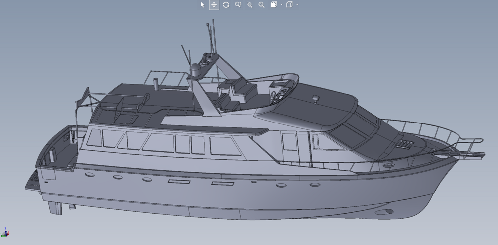 3D As Built Marine model