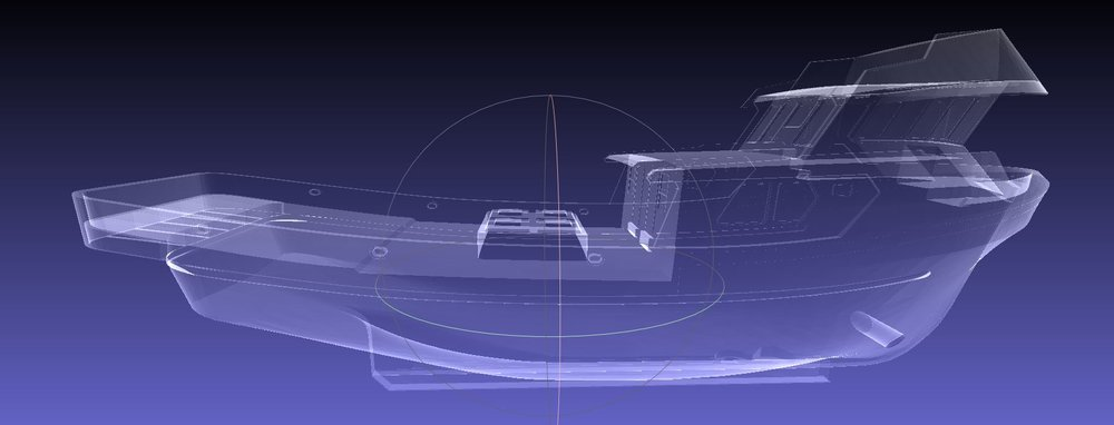 3D Model of Fishing Vessel