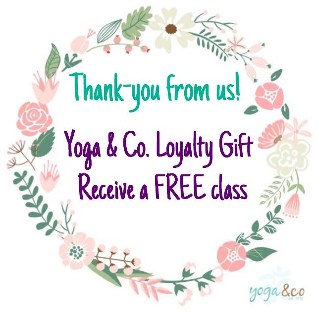💜We want to thank-you for being so loyal. 💜 Receive 1 FREE class after a 10 class concession card, or 2 FREE classes after a 20 class concession card.🕉 - x