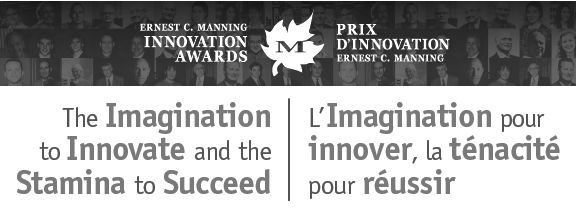 2018 Qualified Nominee - RUNWITHIT Synthetics' founders are honoured to be considered for the nation's most prestigious Ernest C. Manning Innovation Awards.