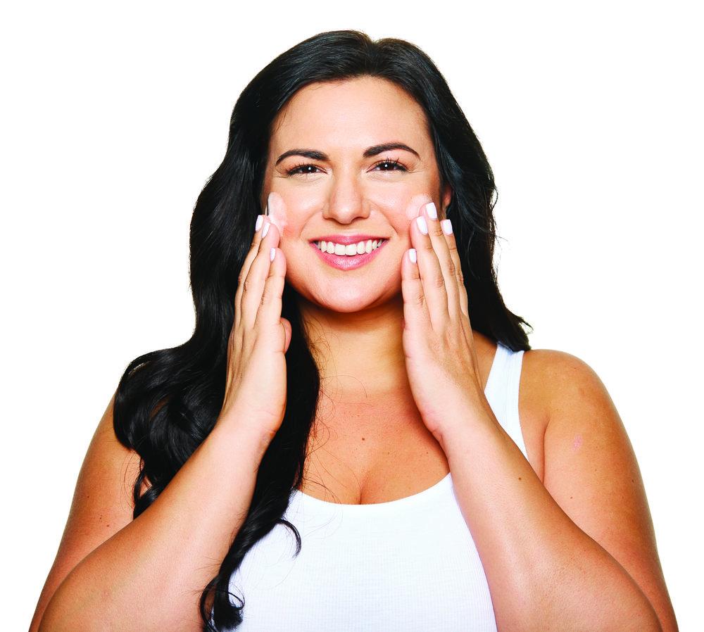 Perfectly Posh skincare routine for oily skin types, naturally based skincare routine for oily skin