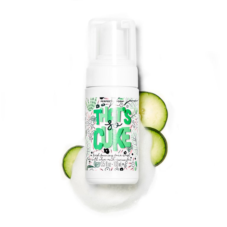 Specialty Face - That's So Cuke™ Fresh Foaming Face WashPro Tip: Cleanse in circular motions, working up from your jaw toward your temples and forehead.