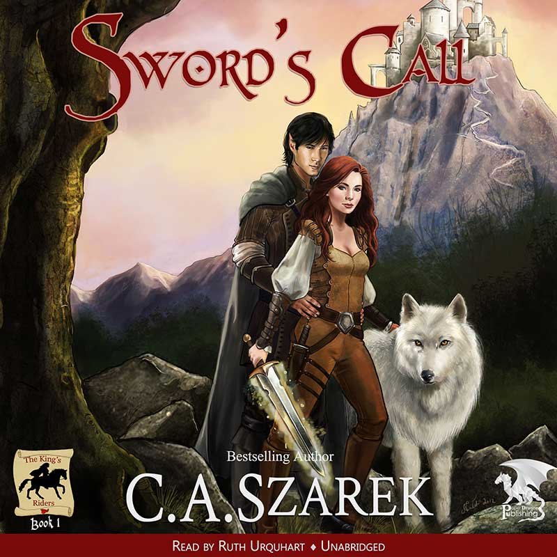 Sword's Call  - Audio book layout