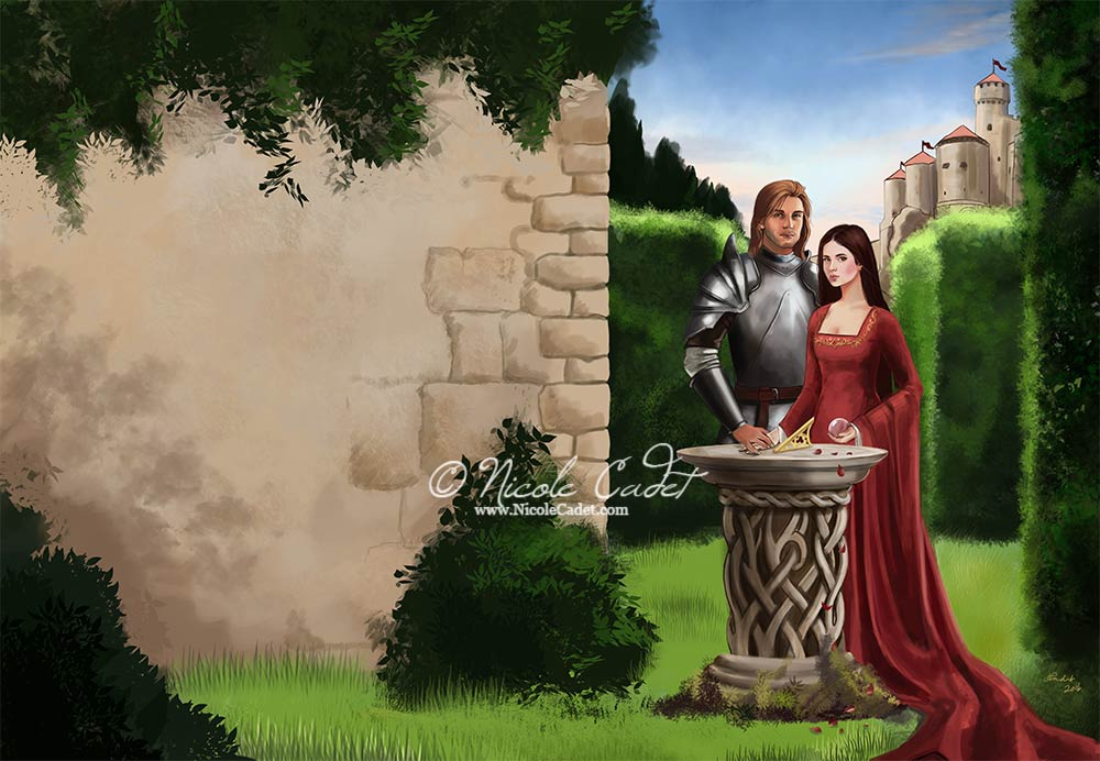 Fantasy Romance cover sample - available for purchase