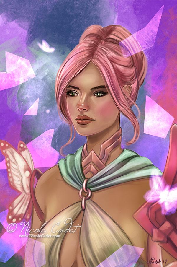 Alessandra Van Sekel - my GW2 Mesmer character