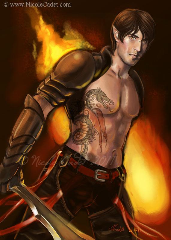 Amber Dragon Sidh