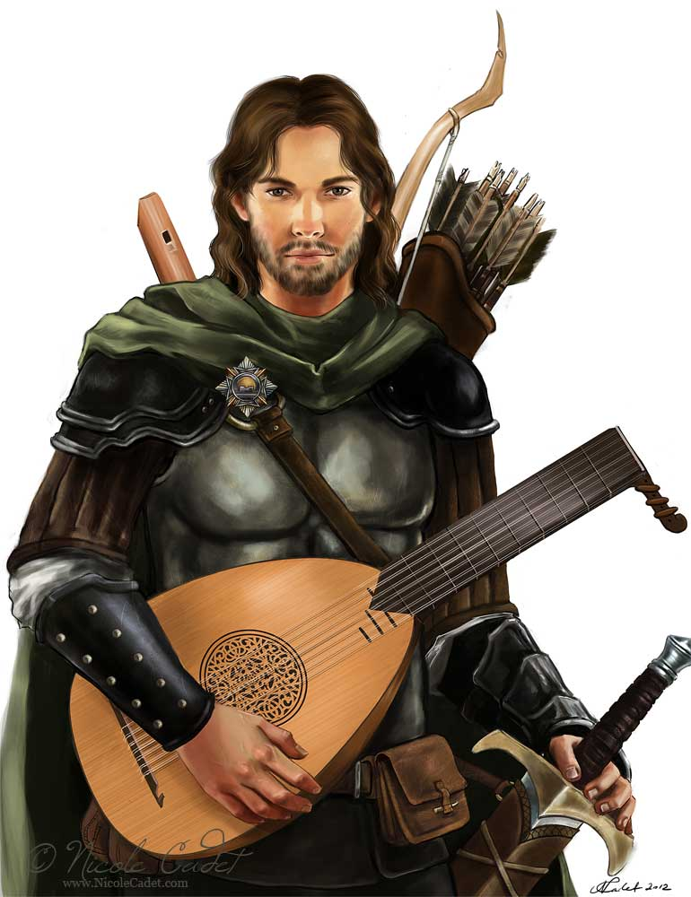 Emerel The Bard