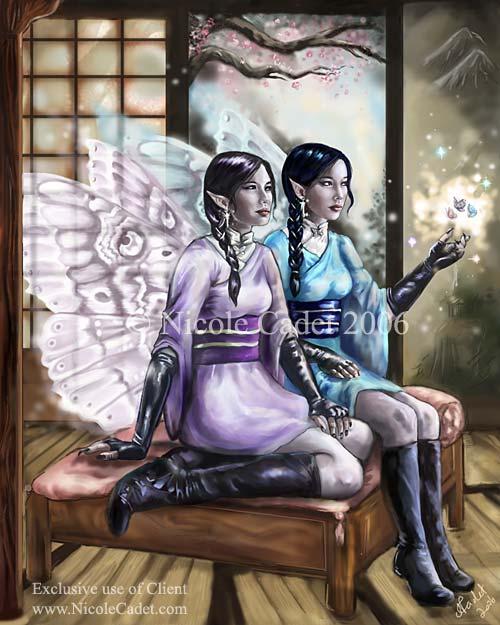 Asian Gloura fairies