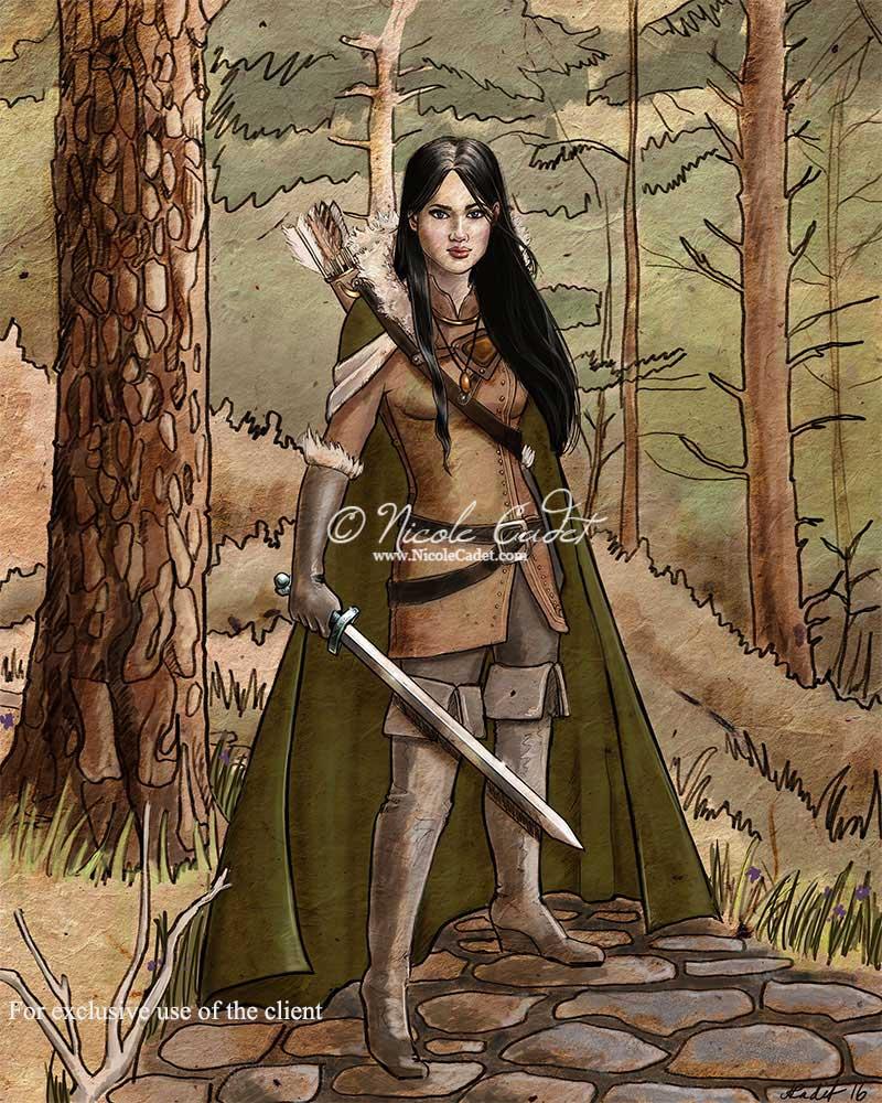Ranger character Cada