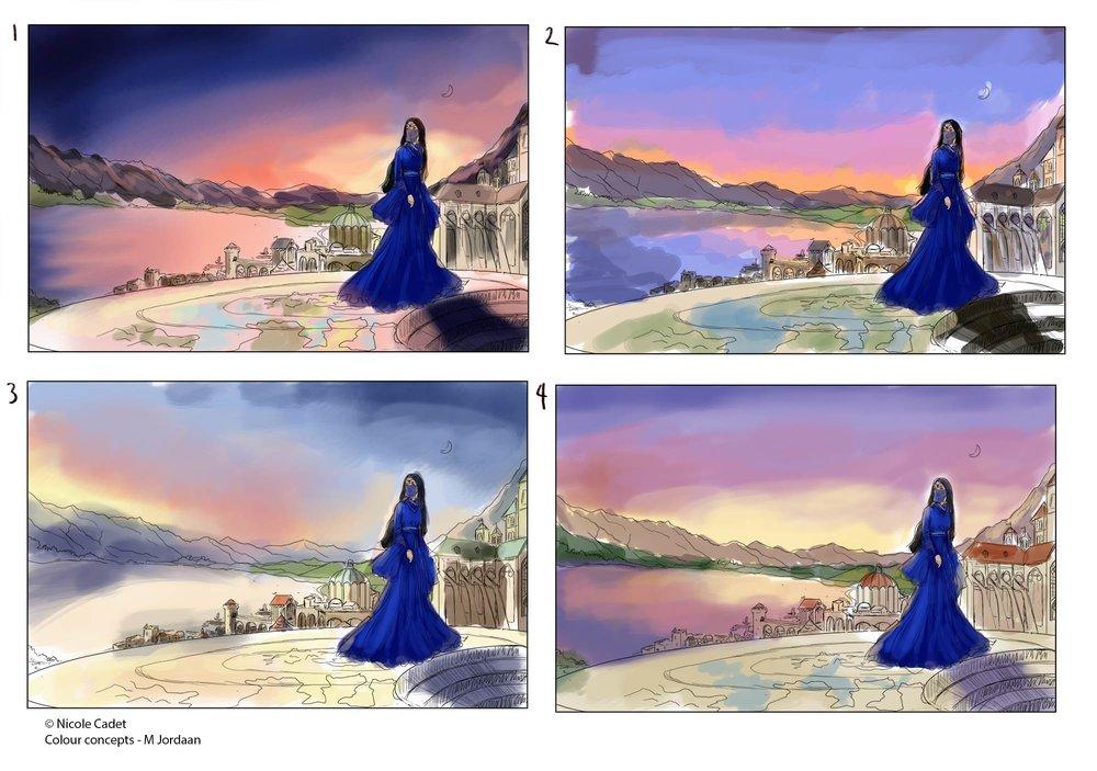 Sentinel Colour concepts
