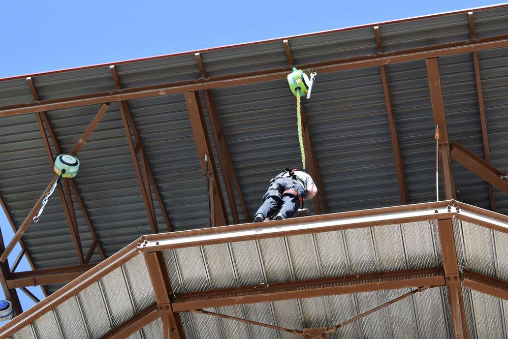 Jerry backward jump from 45 feet