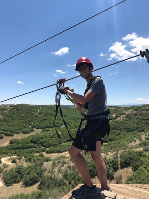 Logan ziplining