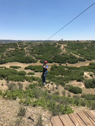 Trevan ziplining