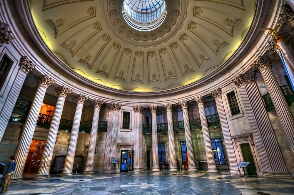 FEDERAL HALL NATIONAL MEMORIAL : Your compositions will be premiered in the financial district of New York City in this stunning marble rotunda. Managed by the National Park Service, its storied history and elegant interior make the perfect counterpoint to the wilderness of Alaska where your pieces were inspired.