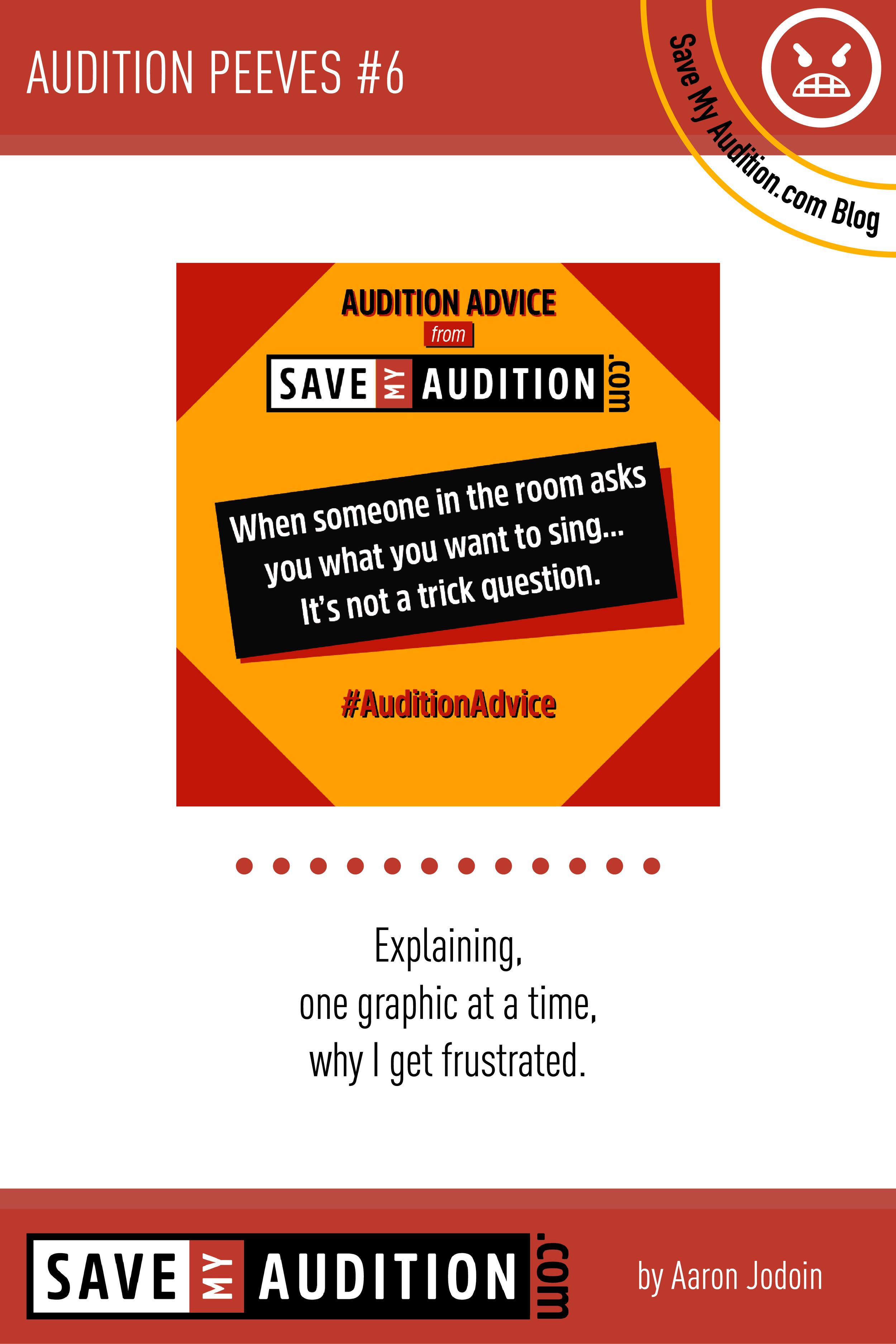 Save My Audition Blog Save My Auditioncom