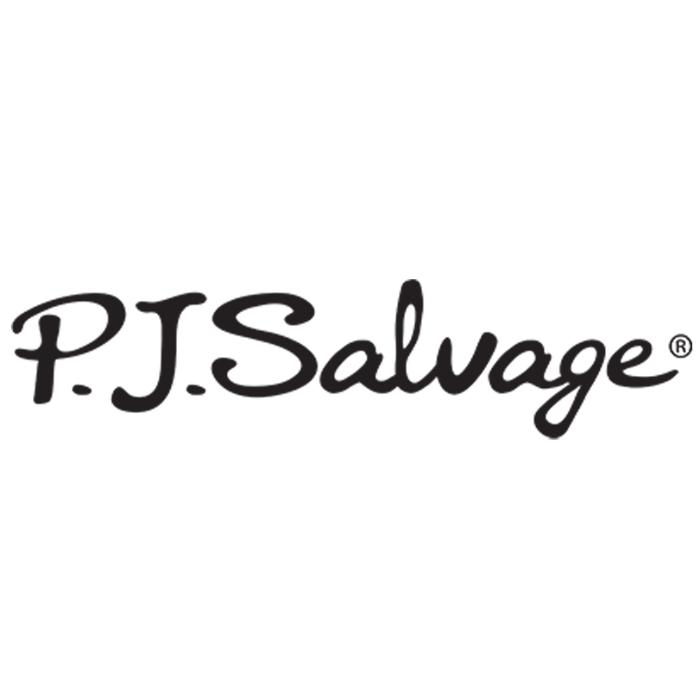P.J. SALVAGE - P.J. Salvage is a leading lifestyle brand known for its luxurious fabrics and chic designs. P.J. Salvage has revolutionized the loungewear market with its fashion forward styling and comfort. P.J. Salvage was established in 1996 and can be found in over 20 countries worldwide. The company's philosophy is fashion and comfort 24/7.