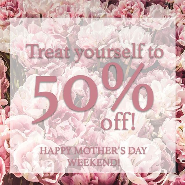 Shop our Mother's Day annual sale and get 50% off any order until May 19, 2018! You deserve to treat yourself, Mama! Happy Mother's Day weekend!  Shop here --  https://bit.ly/2Hwr6g4  #MomCloset #MothersDay #AnnualSale #MomBoxes #StyleBoxes #MomStyle #MomFashion #NursingMama #NewMom #JustJeans #Playdate #Datenight #Backtowork #AfterBedtime