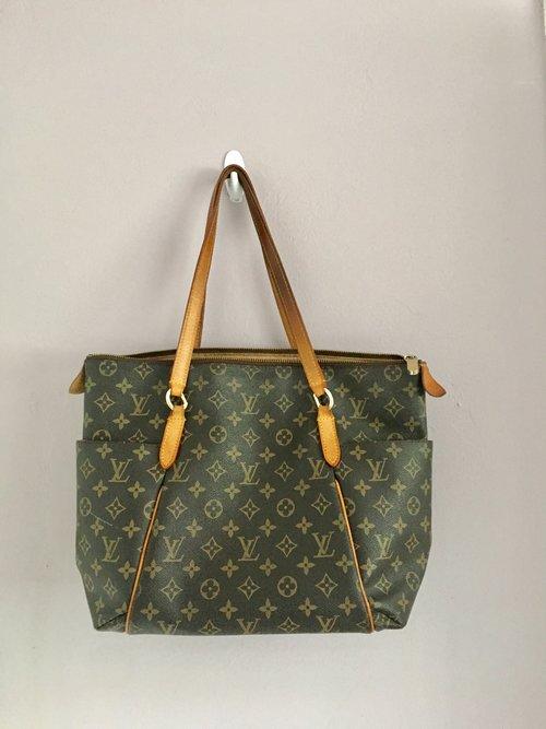 2cb38c57fcf6 Louis Vuitton Totally PM Monogram Brown Tote Shoulder Bag — Flamingo ...