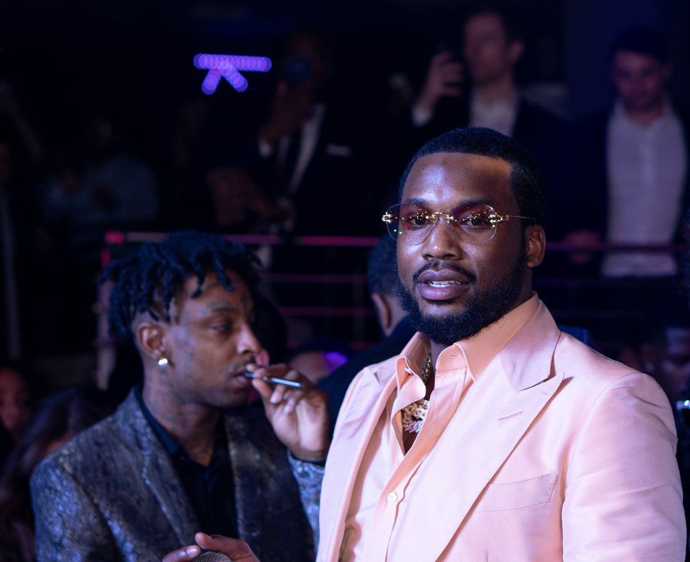 21 Savage and Meek Mill New Years Eve  Club Story Miami