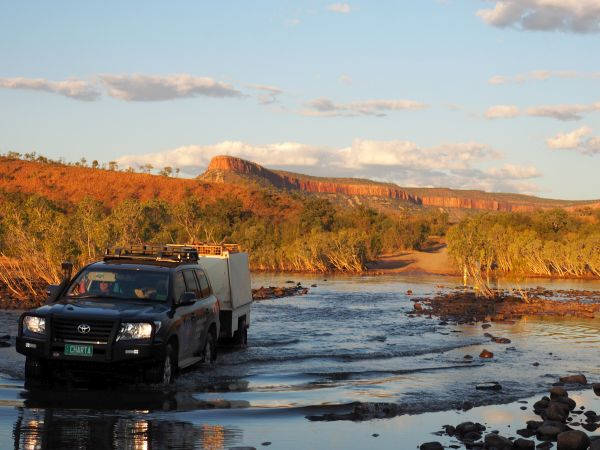 Karijini Tours Vehicle