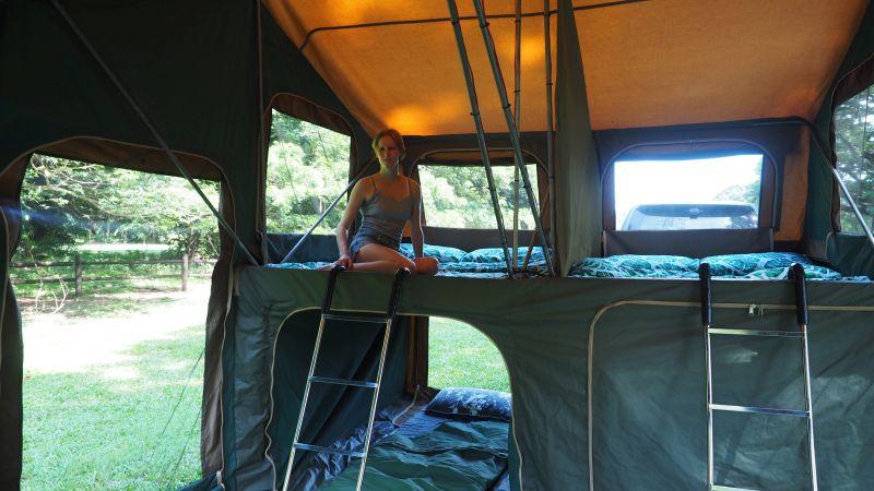 PilbaraTours comfortable camping