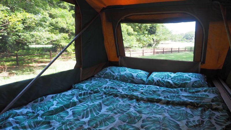 Pilbara Tours comfortable camping