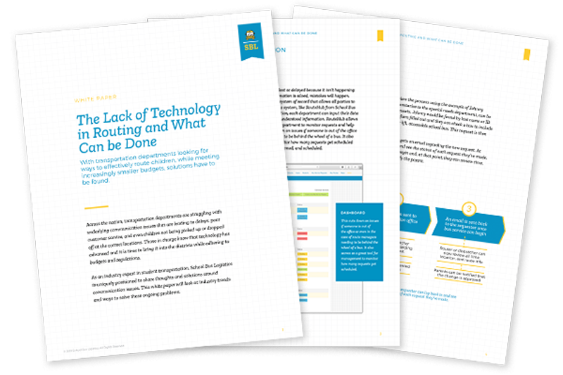 White Paper - The Lack of Technology in Routing and What Can Be Done