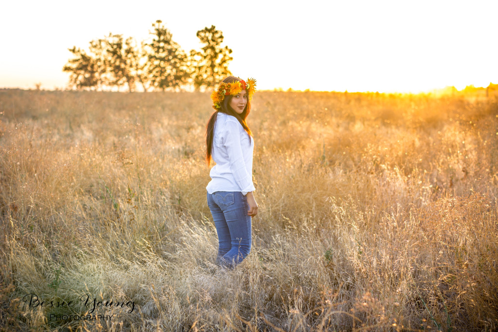 Woodward Park Fresno Boho Senior Portraits - Bessie Young Photography-58