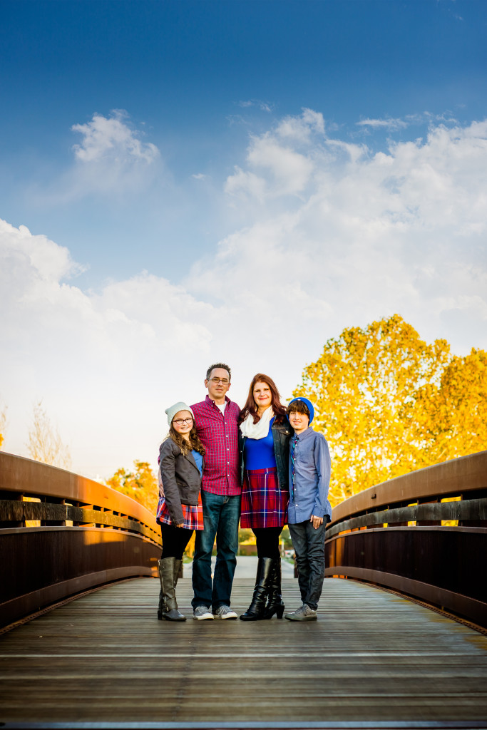 Quail Lakes Clovis Family Portraits 11.11.15 - Bessie Young Photography