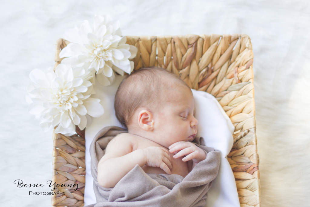 Fresno Newborn Portrait Photographer Bessie Young
