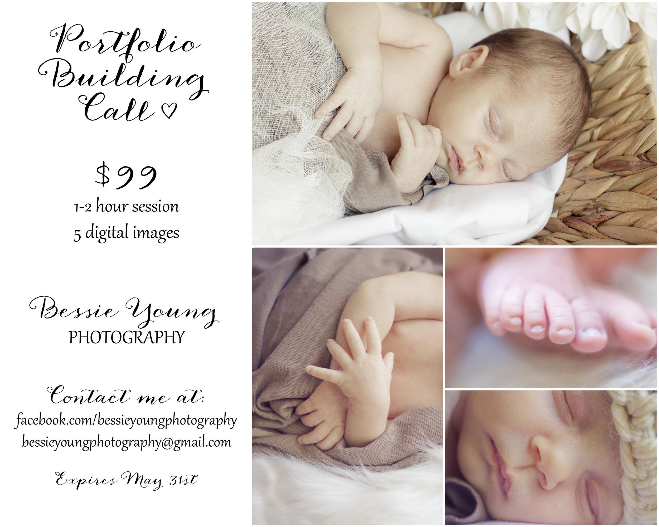 Fresno Newborn Portrait - Bessie Young Photography