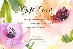 Bessie Young Photography Gift Cards - Display 2